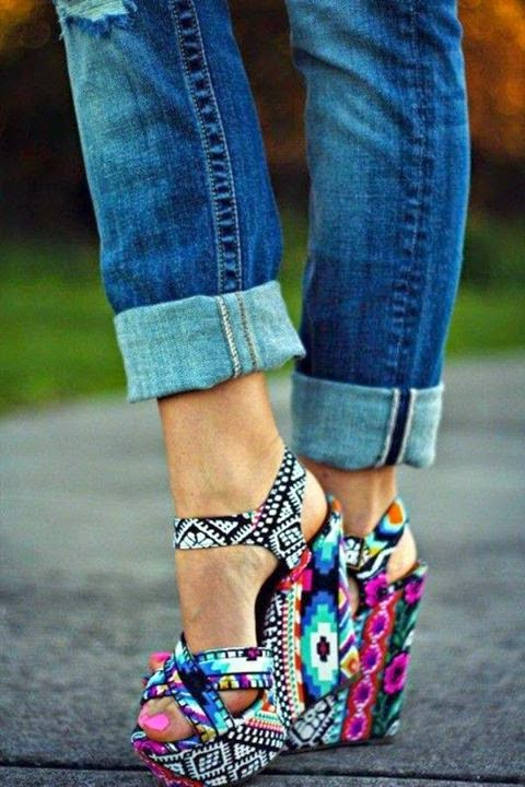 Colorful  High Heels Designs