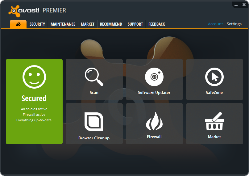 avast! Premier Antivirus 8.0.1481 With License Keys