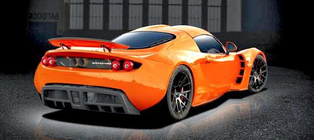 2014 Hennessey Venom GT2 top gear
