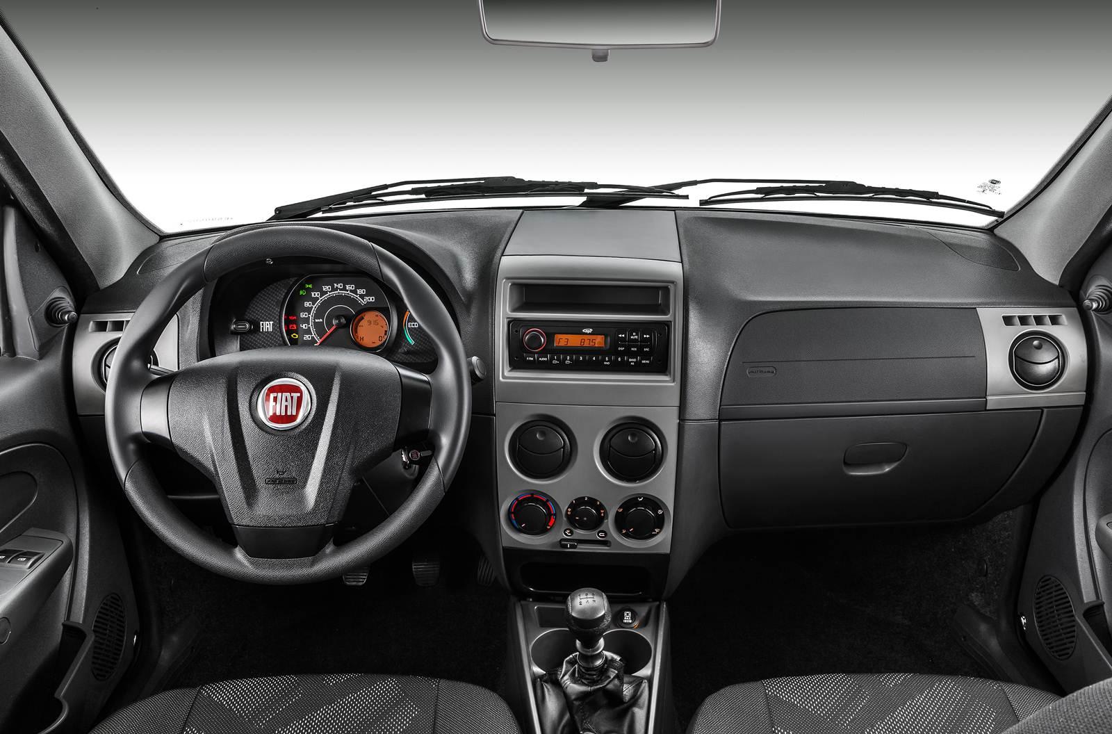 novo Fiat Palio Fire 2014 - painel