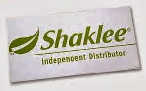 Saya adalah Pengedar Sah Shaklee (Shaklee Independent Distributor) Shaklee ID :967674