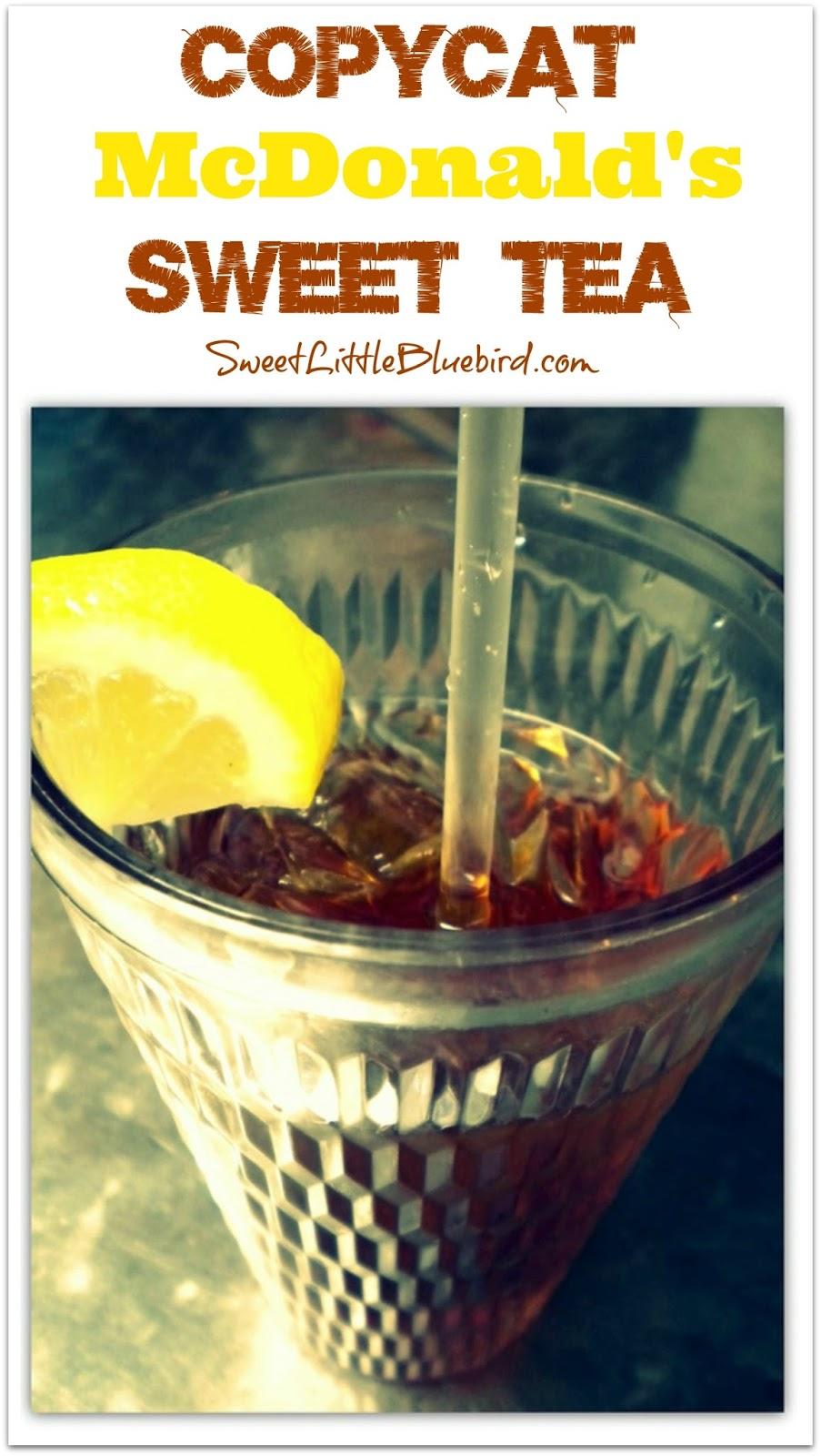 Copycat Mcdonald S Sweet Tea