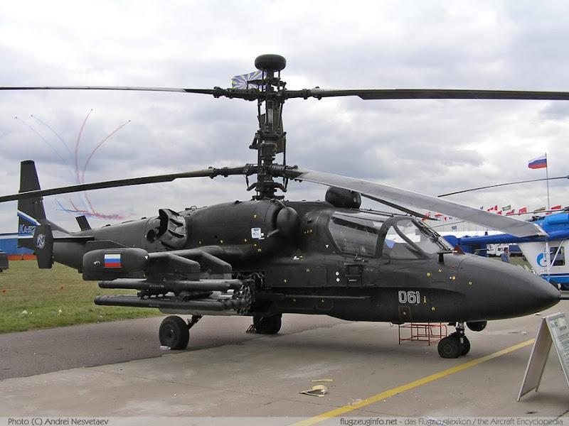 Ka-52 Alligator Multi-role Combat Helicopter