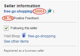 eBay Seller Information