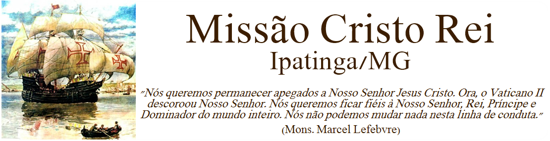 Missão Cristo Rei - Ipatinga MG