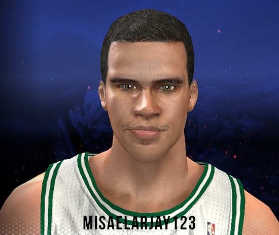 NBA 2K14 Kris Humphries Face Mod