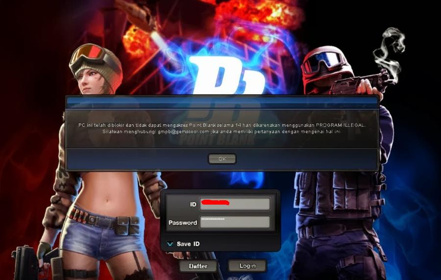 Trik Mengatasi Banned PC 14 Hari Point Blank