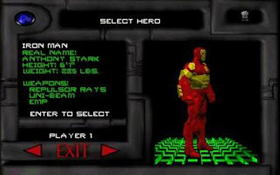 Iron Man X-O Manowar in Heavy Metal Games