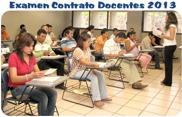 Modelo examen contrato docente 2013 solucionario new for Prueba docente 2016