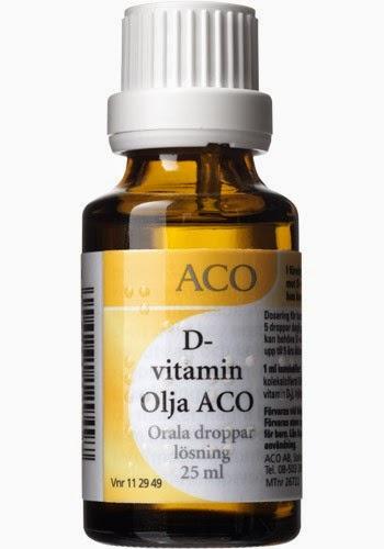 d vitamin för vuxna
