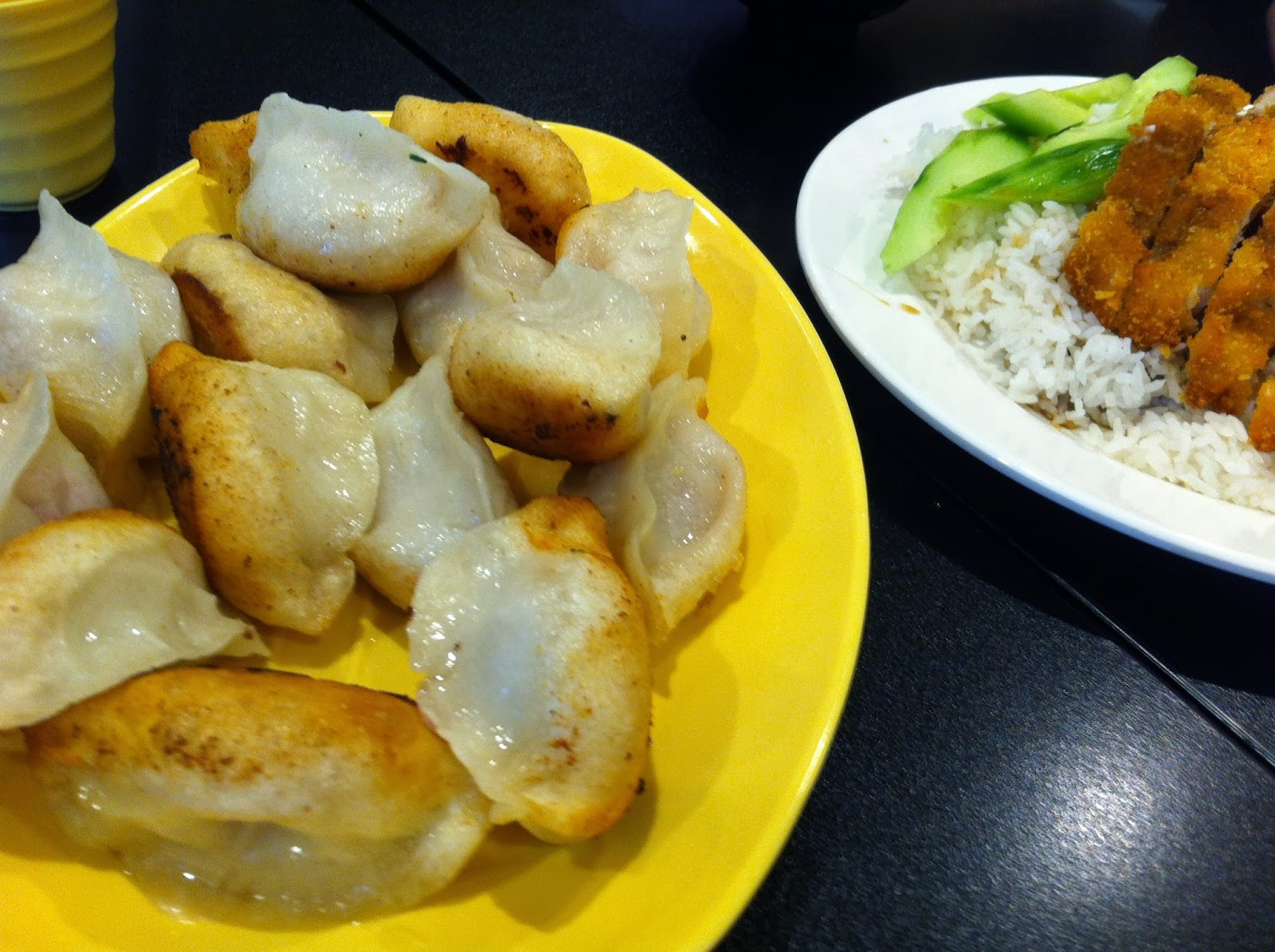 . And Ping's pan-fried pork dumplings are about as good as dumplings ...