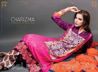 Charizma  New lawn Eid dresses 2013