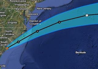BERYL wieder über Wasser - und fast wieder ein Tropischer Sturm, Beryl, aktuell, Mai, 2012, Hurrikansaison 2012, Atlantische Hurrikansaison, Atlantik, US-Ostküste Eastcoast, Vorhersage Forecast Prognose, Satellitenbild Satellitenbilder,