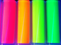 U.V. Reactive and GLOW NEON PAINT - 4 NEON Glow colors  available