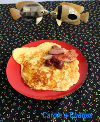 Buttermilk pancakes with bacon (a la Martha): Carole's Chatter