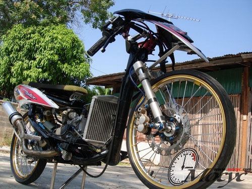 Modifikasi Motor Mio Soul Drag