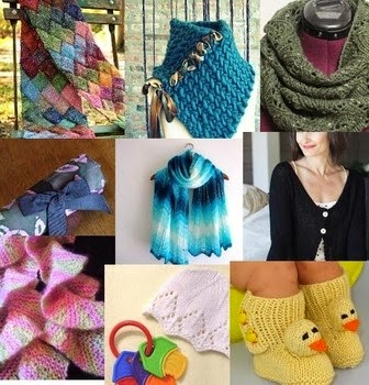 Knitted Flowers Pattern : Craftdrawer Crafts: Top 20 free knitting patterns to download