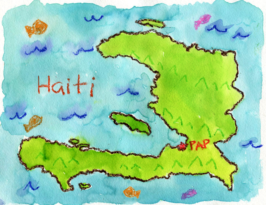 Another Haiti Art Project | Art Projects for Kids