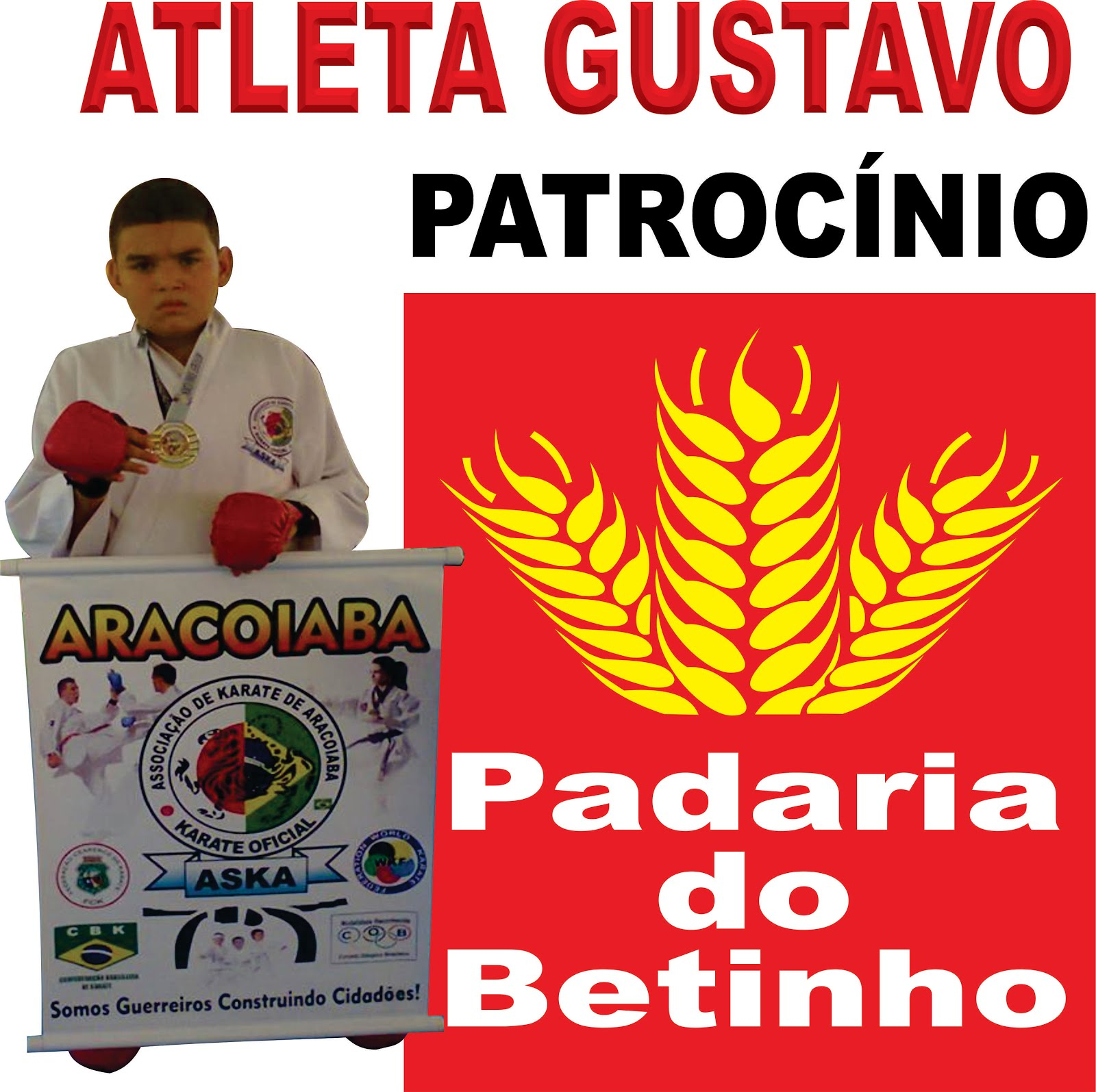 PATROCINIO ATLETA GUSTAVO