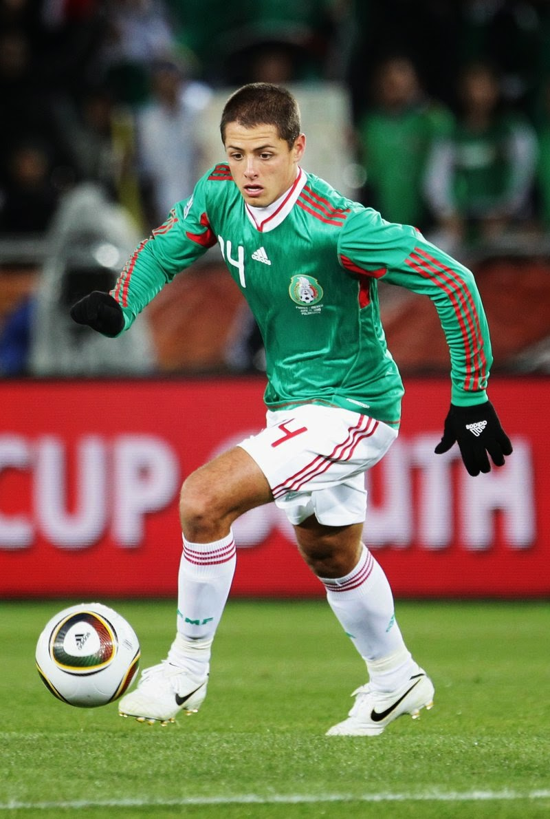 Javier Hernandez (Mexico) best players to Watch at FIFA World Cup 2014
