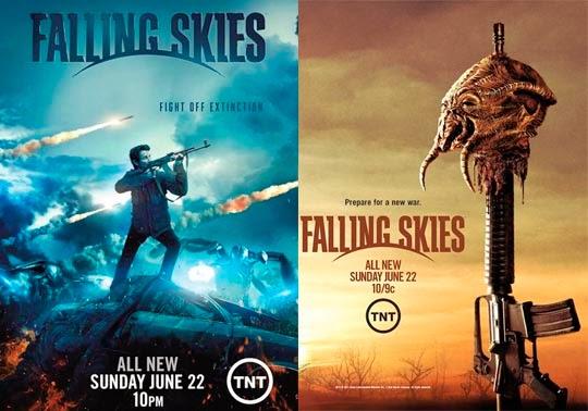 Falling Skies Cuarta Temporada | Historias Bastardas Extraordinarias Sobre La Cuarta Temporada