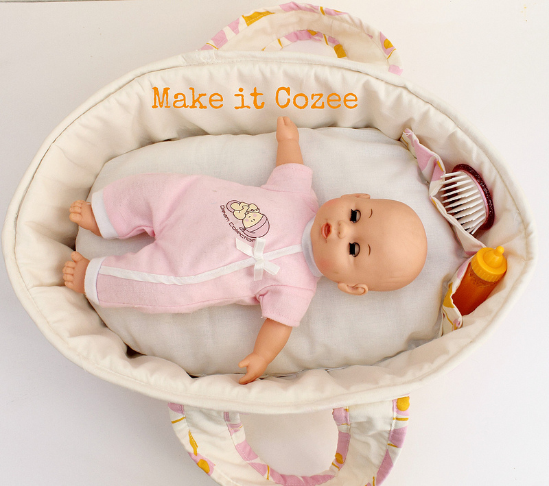 Homemade Squishy Collection It Z Just Cute : Make it Cozee: Baby Doll Bed
