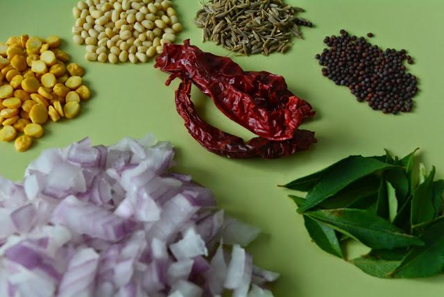 popu ginjalu, tempering ingredients