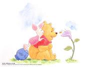 Riscos da turminha do Pooh.