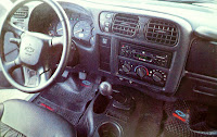 Tablero, torpedo, interior Chevrolet S-10 Limited