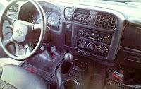 Tablero, torpedo, interior Chevrolet S-10 Limited