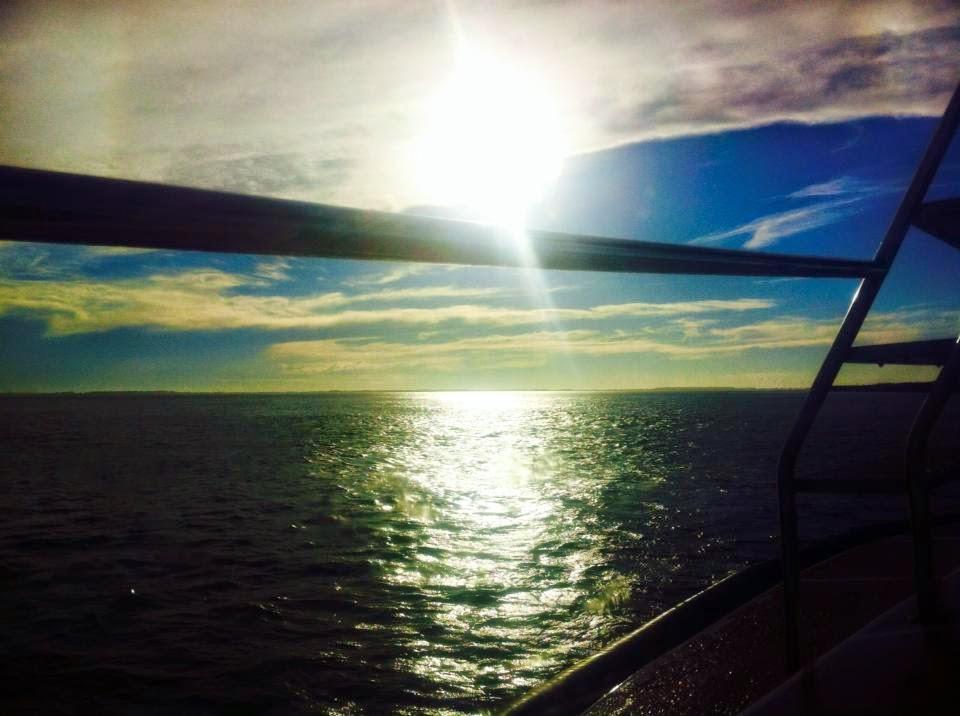 No mar na costa de Rio Grande
