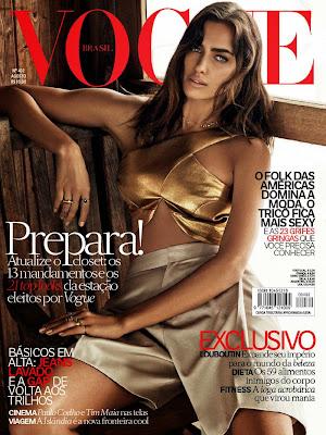 Irina Shayk graces on Vogue Brazil Magazine August 2014 photoshoot