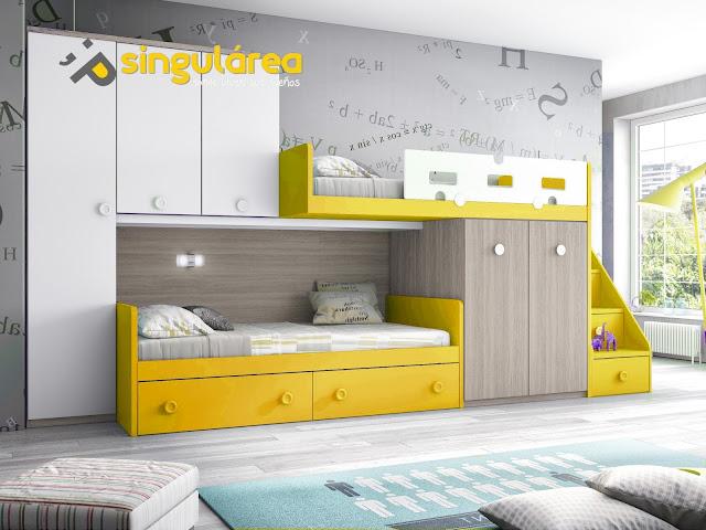 Image gallery habitaciones juveniles - Habitaciones tren juveniles ...