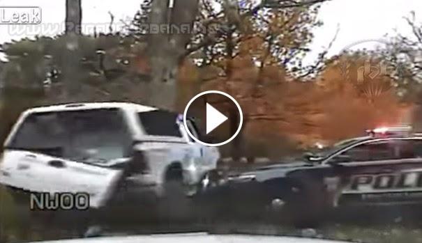 VIDEO IMPACTANTE - Dramática persecución entre policía y un ladrón de auto.