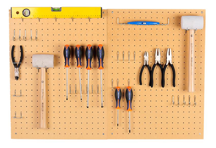 En miss manos diy moodboard organizador - Organizador de herramientas ...