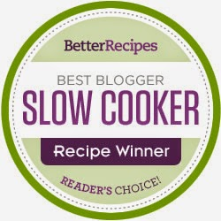BEST BLOGGER SLOW COOKER RECIPE WINNER (READERS CHOICE)