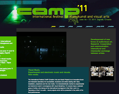 CAMP Festival - Festival for Visual Music