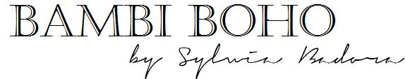 ⋙ BAMBI BOHO blog ⋘