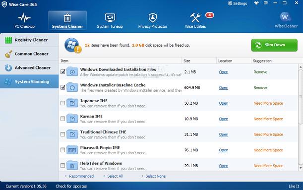برابط مباشر برنامج رائع Wise Care 2.96 Build لصيانة الجهاز وتحسين اداؤه,بوابة 2013 Wise+Care+365+