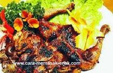 resep praktis (mudah) membuat (membikin) masakan ayam bakar kalasan spesial enak, gurih, lezat