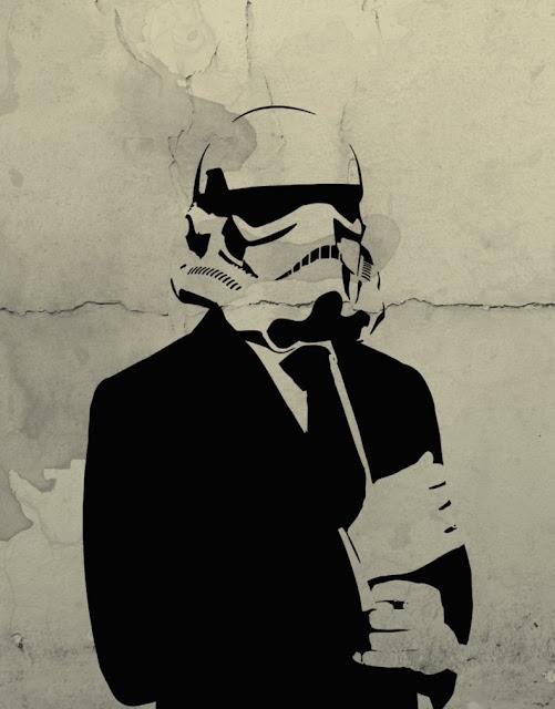 Amazing Stencils Star Wars Stormtrooper Man Stencil