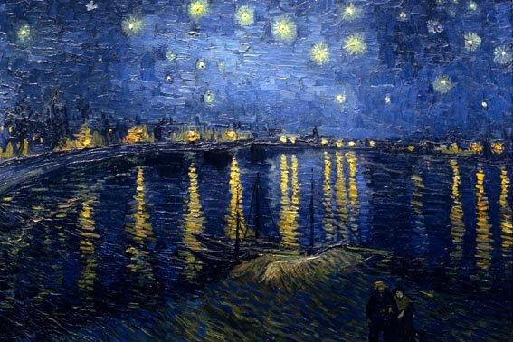 The stary naight: Karya Vincent Van Gogh