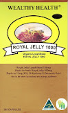 Wealthy Health Royal jelly 10HDA 6% 184mg.  ขนาด 365 เม็ด