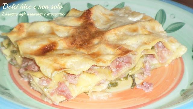 lasagne agli asparagi e prosciutto