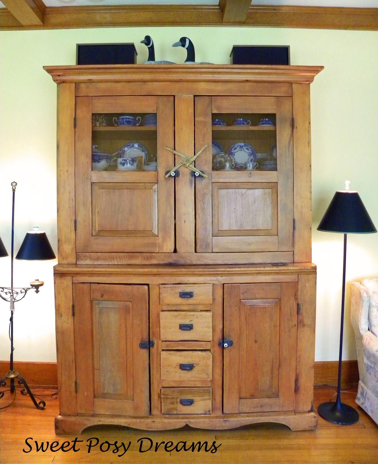 sweet posy dreams a hutch too far. Black Bedroom Furniture Sets. Home Design Ideas