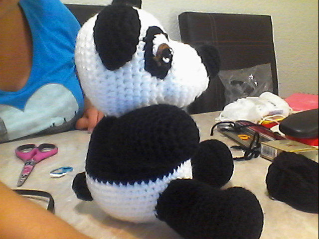 Amigurumi Oso Panda Patron : Novedades jenpoali patron oso panda amigurumi modelo