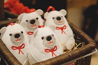 Hello Freckles The Body Shop Christmas Polar Bear