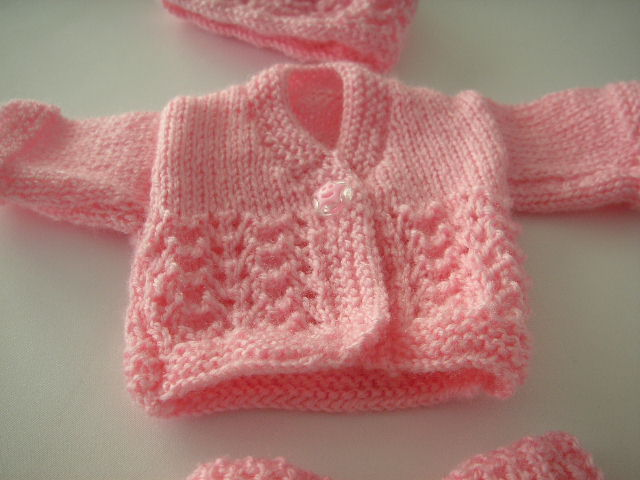 Knitting Preemie Small Lovely Child Pretty Picturesboss