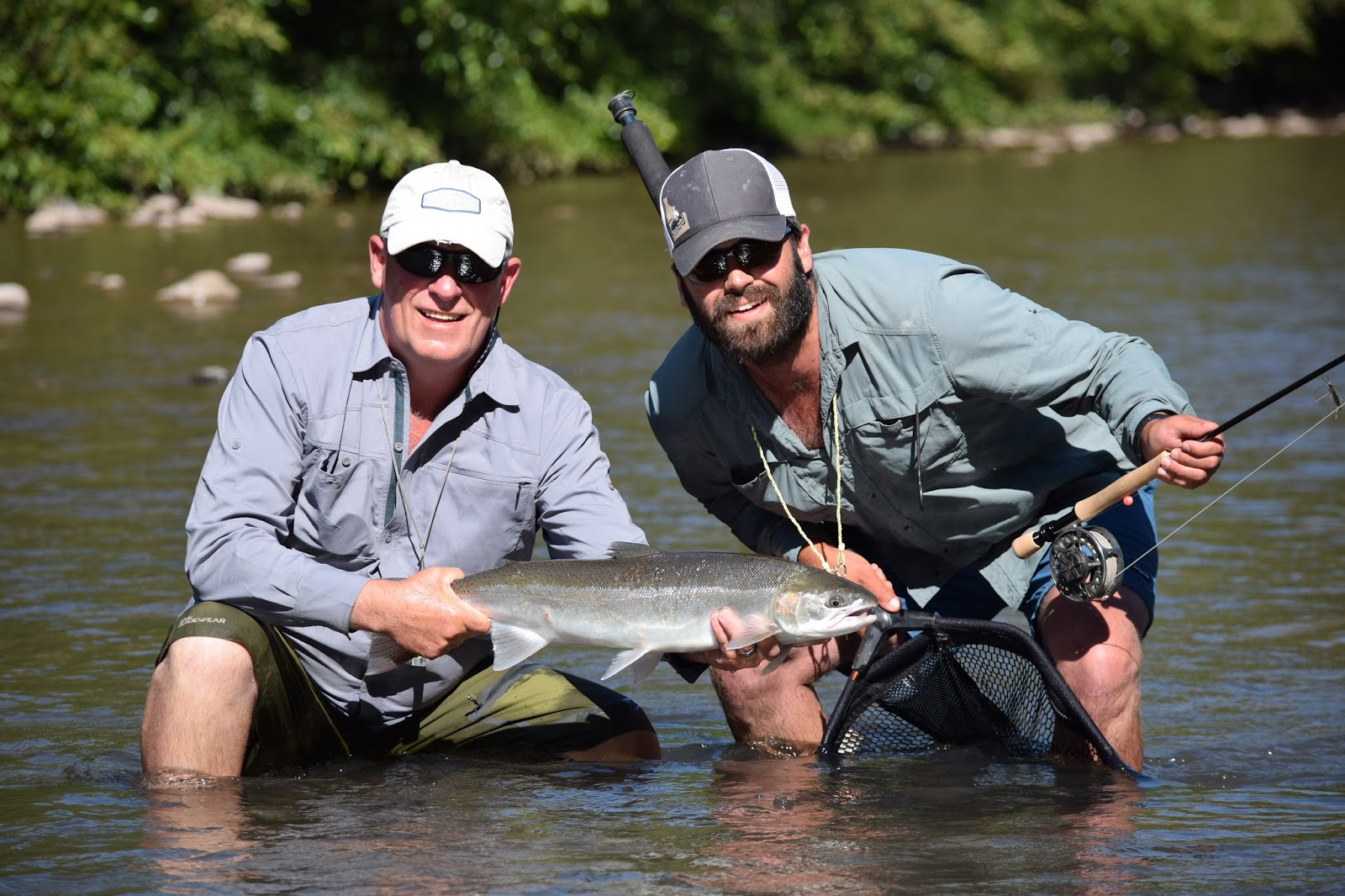 Klickitat river report 7 18 15 the evening hatch for Klickitat river fishing report