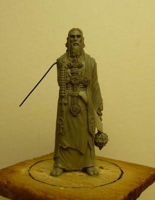 Zombicide Survivor Artist Pack Rasputin Zombie Padre Johnson